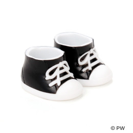 PetWORKs Closet - DecoNiki Shoes, Sneakers, Enamel-Black