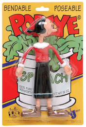 NJ Croce Olive Oyl Bendable Toy Figure