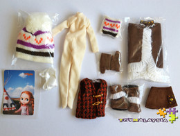 Neo Blythe Pow Wow Poncho (Outfit)