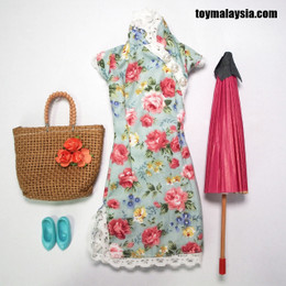 1/6 Cheongsam dress set B