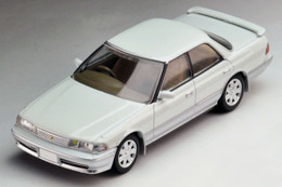 Tomica Limited Vintage NEO TLV-N178b Toyota MarkII 2.5 GT (White / Silver)
