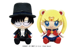 Sailor Moon Nuimas Plush Pair Set Sailor Moon & Tuxedo Mask