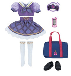Licca-chan Harajuku Girls School coordinates Dress Set SEIFUKU MISAKI