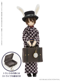 EX Cute Family:  Alice's Tea Party Watch Rabbit -Taisho Roman / Yuta 1/6 Doll