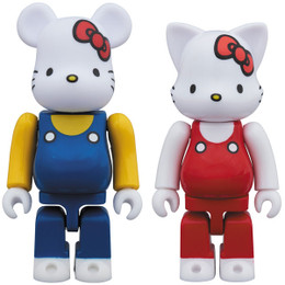 Hello Kitty x BE@RBRICK x NY@BRICK Hello Kitty 2 Pcs Set