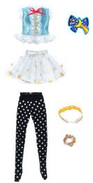 Licca-chan Harajuku Girls School coordinates Dress Set SHOOTING STAR