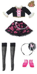 Licca-chan Harajuku Girls School coordinates Dress Set DIAMOND QUEEN