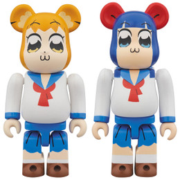 BE@RBRICK - Pop Team Epic 2 Pcs Set