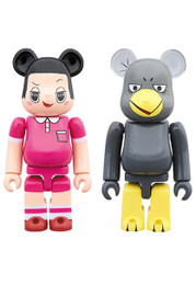 *Pre-order due date: 2019/07/17 - BE@RBRICK Chiko-chan ni Shikarareru! Chiko-chan & Kyoe-chan 2 Pack PRE-ORDER