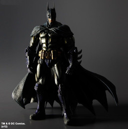Square Enix - Play Arts Kai - Batman Arkham Asylum  PVC Figure  Batman Armored