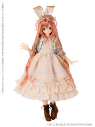 EX Cute Family:  Alice's Tea Party - A Mad Tea Party - March Hare/Raili 1/6 Doll