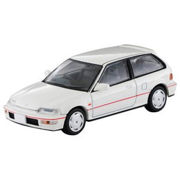 Tomica Limited Vintage NEO TLV-N812b Honda Civic SiR-II (White)
