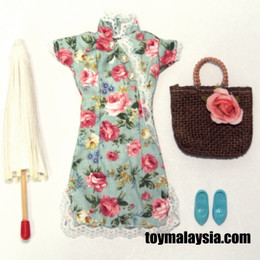 1/6 Cheongsam dress set D