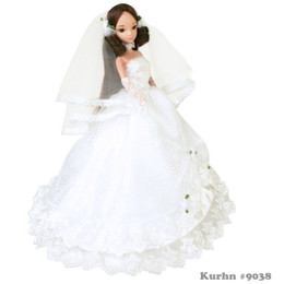Kurhn Doll Romantic Wedding The Dating of Rose (DENTED BOX)