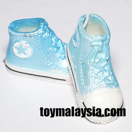 Doll Sneakers ( Pearl Blue )