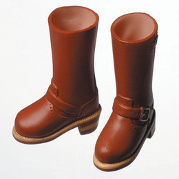 OBITSU BODY ACCESSORY - Obitsu Engineer Boots, Female, 1/6 - Brown