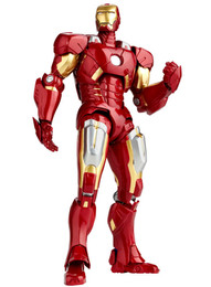 "Legacy of Revoltech - Tokusatsu Revoltech LR-041 ""Avengers"" Iron Man Mark 7 (Released) by Kaiyodo"