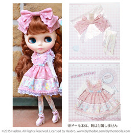 Junie Moon Dolly Wear Melody Toys Set (Pink)