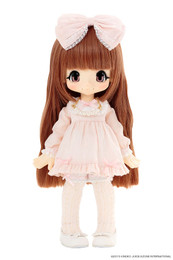 KIKIPOP! - Romantic Frill Sugar Caramel Brown