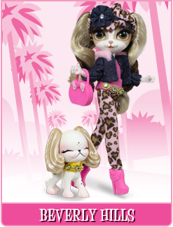 Pinkie Cooper and Jet Set Pets Pinkie in Beverly Hills Doll  •New In Sealed Box•