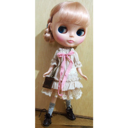 Handmade Mori Girl Blythe Dress Sets (Set A)
