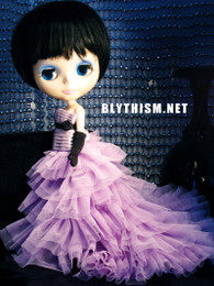 Blythism Wedding Dress in Lavender