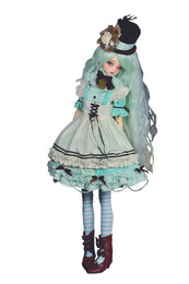 Peak's Woods x Codenoir Crossover Project Dolls BJD000023 - CodeNoir x Peak'sWoods Yeru The Soul Green Ver.