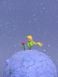 """The Little Prince"" Little Prince & Rose Figure"