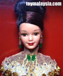 BARBIE Golden Qi-Pao™ Barbie® Doll Hong Kong 1998 Anniversary Edition AS IS