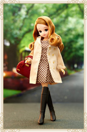 Licca Style Stylish Doll Collections - Licca Cappuchino One-piece Style