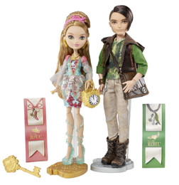 Ever After High Ashlynn Ella & Hunter Huntsman Doll Pack