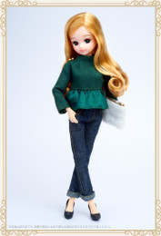Licca Style Stylish Doll Collections - Licca Olive peplum style