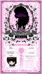 MF-005 Pullip MIO Face / Body Kit (Fair Skin)