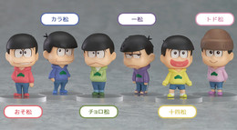 Osomatsu-san Trading Figures (Box of 6)
