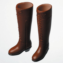 OBITSU BODY ACCESSORY - Obitsu Long Boots, Female 1/6 - Brown