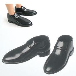 OBITSU BODY ACCESSORY - Obitsu Leather Shoes, Male,1/6 - Black