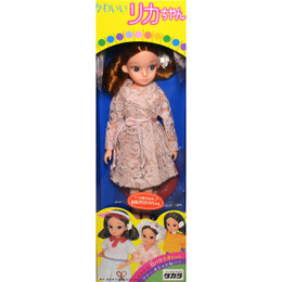 Takara Vintage Licca-chan 35 Anniversary 2nd Gen Repro in Lingerie Gown