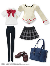 1/3 Character Costume Series - Puella Magi Madoka Magica the Movie / Mitakihara Middle School Girls Uniform Set No.02 For Homura Akemi