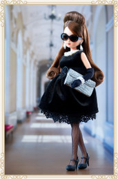 Licca Style Stylish Doll Collections - Licca Black Chocolate Dress Style