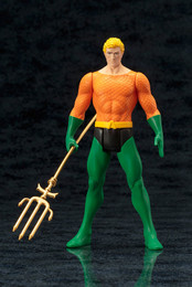 ARTFX+ DC UNIVERSE: Aquaman Super Powers Classics 1/10