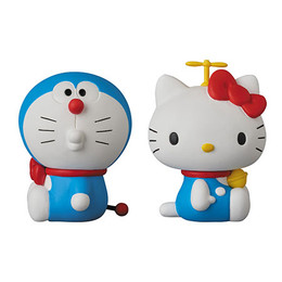 Ultra Detail Figure No.269 UDF DORAEMON meets HELLO KITTY DORAEMON x HELLO KITTY SET OF 2