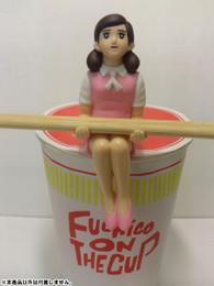 Cup no Fuchico - Cup no Fuchiko - Cup Ramen no Fuchiko Pink Figure