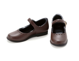 PetWORKs Closet - Mary Jane Flats Shoe, Dark-Brown