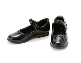 PetWORKs Closet - Mary Jane Flats Shoe, Enamel-Black