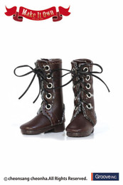MS-005 - MIO Pullip Boots (Brown:Sweing)