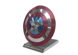 Metallic Nano Puzzle Captain America Shield