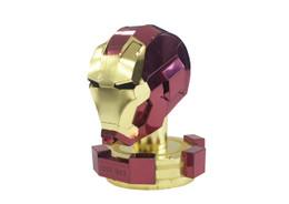 Metallic Nano Puzzle Iron Man Helmet