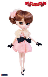 O-817 - MIO Pullip Happiness Chiffon Dress Outfit Set