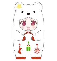 Nendoroid More - Kigurumi Face Parts Case (Christmas Polar Bear Ver.)