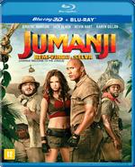 Jumanji - Bem-Vindo A Selva - Blu-Ray 3D + Blu-Ray